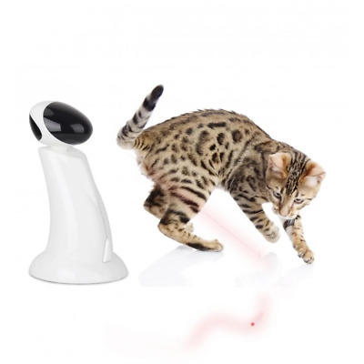 Cat Toy Laser Beam Interactive Robot Pointer Toys Pet Kitty Fun All For Paws