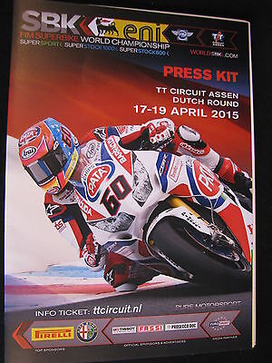 Press Kit FIM Superbike World Championship Assen, Press Review 18th April 2015 2