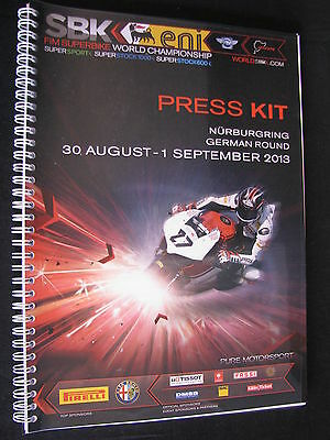 Press Kit FIM Superbike World Championship Nürburgring German Round 2013