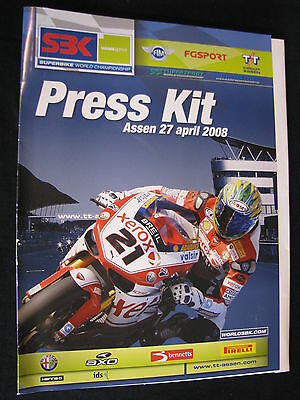 Press Kit FIM Superbike World Championship TT Circuit Assen Dutch Round 2008 #1
