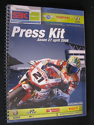 Press Kit FIM Superbike World Championship TT Circuit Assen Dutch Round 2008 #2