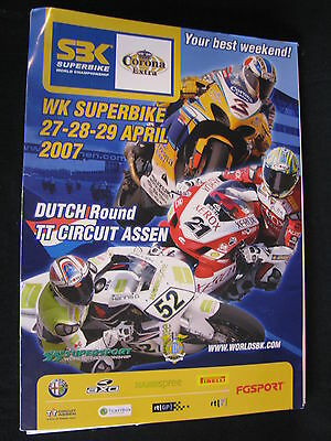 Press Kit FIM Superbike World Championship TT Circuit Assen Dutch Round 2007