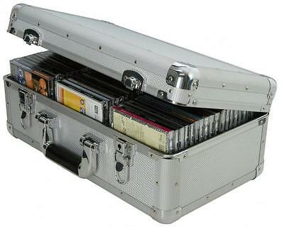 Citronic 127.058 Aluminium CD Flight Case 60 Case Capacity 430 x 180 x 260mm New