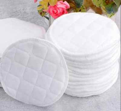 12PCS Reusable Breast Pads Nursing Maternity Organic Washable Pad new US