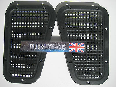 Land Rover Defender 90, 110, Wing Top Grille Mesh Vent Set, Bearmach Brand