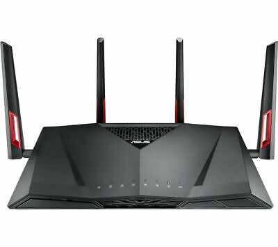 ASUS RT-AC88U Wireless Cable & Fibre Router Antennas:4 Black