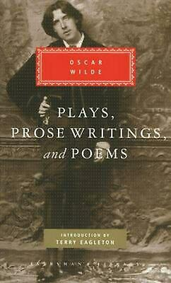 Plays, Prose Writings And Poems by Oscar Wilde (English) Hardcover Book Free Shi