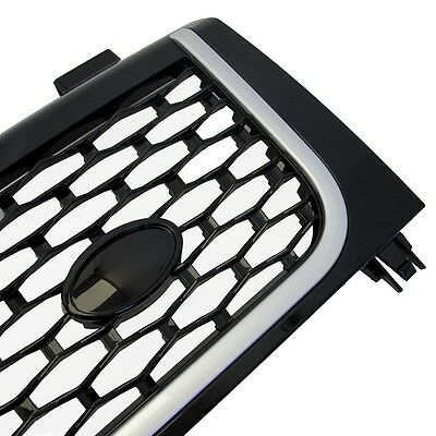 Black Silver Autobiography style front GRILLE Grill Range Rover Vogue L322 2002