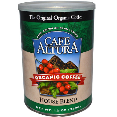 New Cafe Altura Organic Coffee House Blend Daily Healthy Food Breakfast Kosher