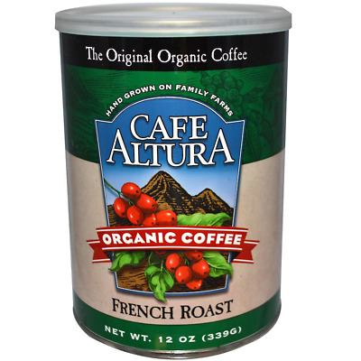 New Cafe Altura Organic Coffee French Roast Daily Healthy Food Breakfast Kosher