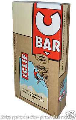 New Clif Bar Energy White Chocolate Macadamia Nut Protein Healthy Nutrition Food