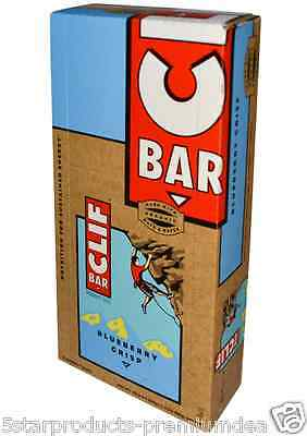 New Clif Bar Energy Blueberry Crisp Protein Kosher Organic Healthy Nutrition