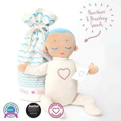 Lulla Doll | Lulla Sleep Doll | Sleep Companion | Breathing & Heartbeat Doll |UK