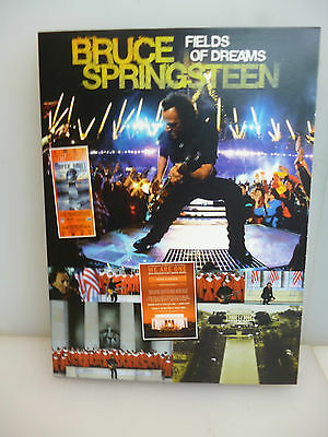 Bruce Springsteen-Fields Of Dreams. Usa 2009.-Dvd Digipack.-New.sealed.