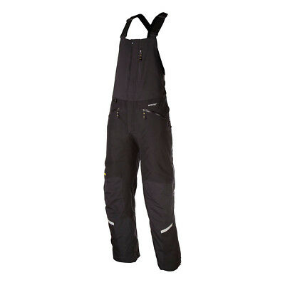 Klim Black Mens Keweenaw Insulated Snowmobile Bibs Pants Snocross 2017