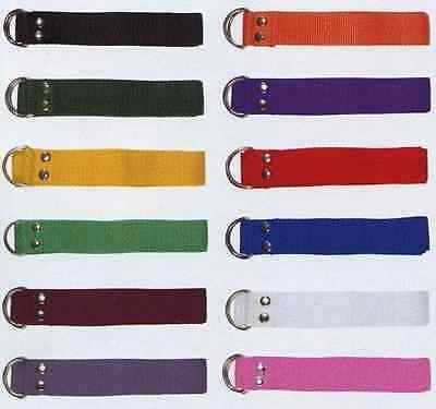 New Martin Dozen (12) Football Pant Nylon Belts Many Colors, One Size Fits All