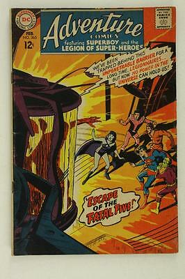 Vintage Silver Age DC Comic Adventure SUPERBOY Legion Super Heroes Feb #365