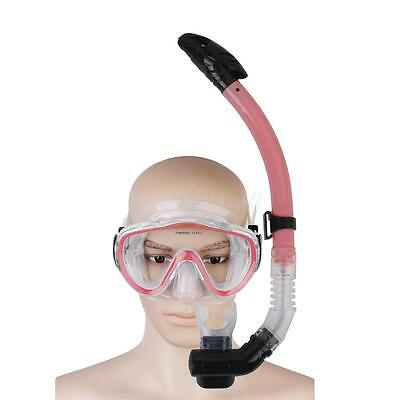 Adult Silicone Swimming Diving Diver Mask Dry Snorkel Set Snorkeling Gear