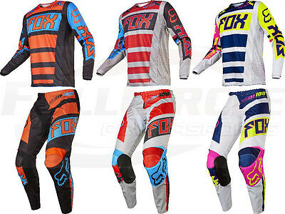 Fox Racing 180 Falcon Jersey & Pant Combo Men's Motocross/MX/ATV Dirt Bike 2017