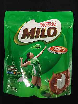 Japanese Nestle Milo Chocolate Flavored Drink 240g 1,2pack free shipping!