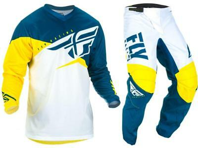 Fly Racing Lime F-16 Jersey & Pant Combo Set MX/ATV/BMX/MTB 2017 Riding Gear