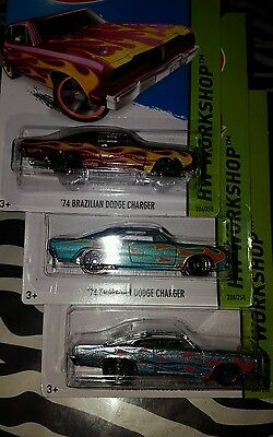 Hot Wheels 74 Brazilian Dodge Charger  3 Of