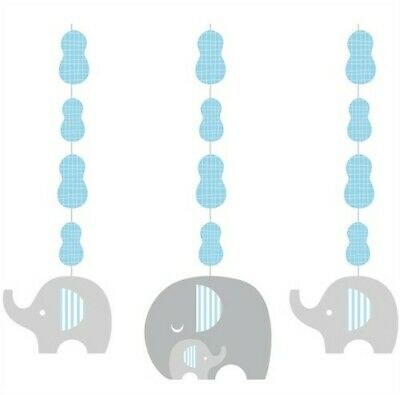 Little Peanut Boy Baby Shower Hanging Cutouts 3 Pack