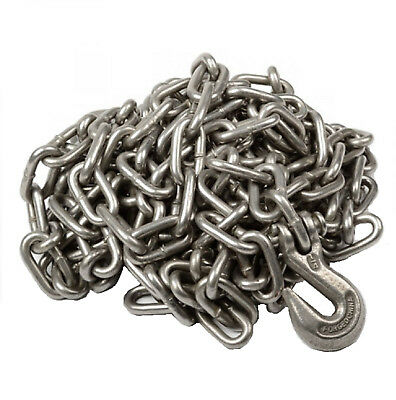 "1/4"" X 20' Heavy Duty Tow Chain Automotive Truck Towing 20ft Log Chain"