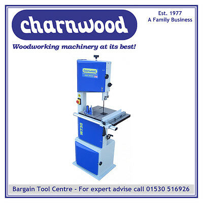 "CHARNWOOD W730 14'' Woodworking Bandsaw WITH 9"" DEPTH OF CUT"