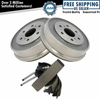 Nakamoto Rear Brake Drum & Shoe Kit Sides for Chevy Silverado GMC Sierra 1500
