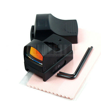 New  Holographic Reflex Micro 3 MOA Red Dot Sight Picatinny Weaver Mount Rifle