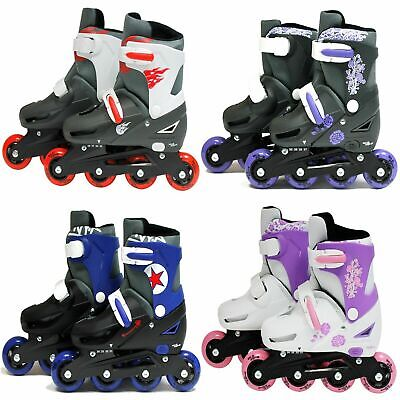 SK8 Zone Boys Girls Roller Blades Inline Skates Adjustable Size Pro Skating New