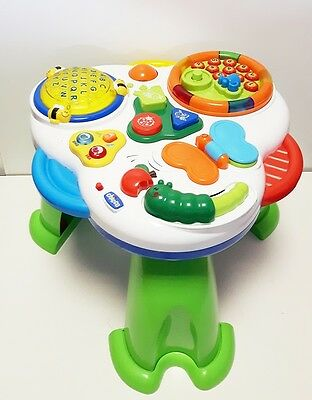 Chicco Talking Garden Activity Table Musical Bilingual ***PRE-OWNED***