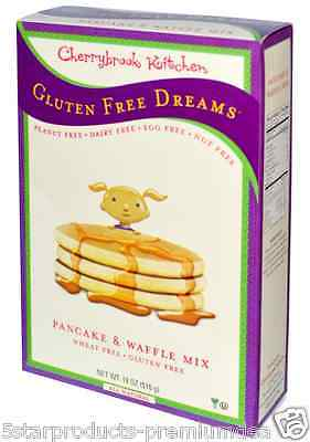 New Cherrybrook Kitchen Gluten Wheat Free Dreams Pancake Waffle Mix Vegan Daily