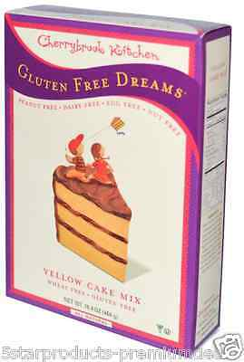 New Cherrybrook Kitchen Gluten Free Dreams Yellow Cake Mix Vegan Daily Food
