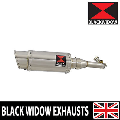 Piaggio Vespa GTS 125 4T 2007-2016 Stainless Steel Exhaust System 200SS Silencer