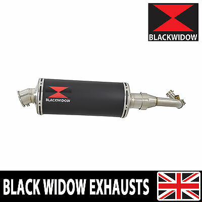 Piaggio Vespa GTS 300 ie Super 08-16 Exhaust System 300BS Black Silencer
