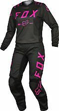 Fox Womens 180 Pink Black Jersey &  Pant Combo Motorcycle ATV 17273 17274 285