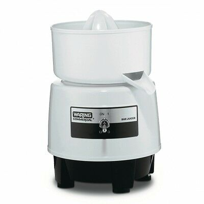 Waring BJ120C Commercial Citrus Bar Juicer with Compact Design 1 Year Warranty