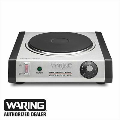 Waring WEB300 Commercial Cast Iron Single Burner 1 Year Warranty