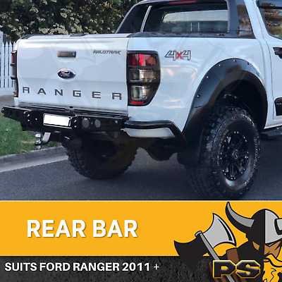 Rear Jack Tow Bar Bumper For Ford Ranger PX 2012-2016 Heavy Duty, ADR Approved