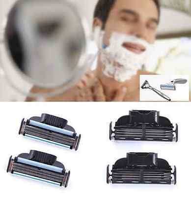 4PCS Shaving Razor Refills Cartridge Blade 3 layer for 3 series US