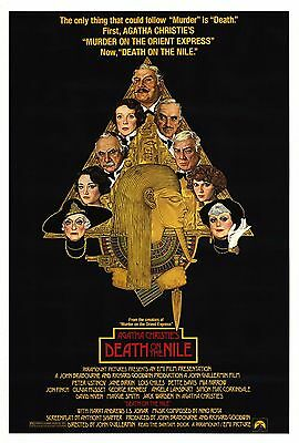 """Death On The Nile"" Agatha Christies Classic Movie Poster A1A2A3A4Sizes"