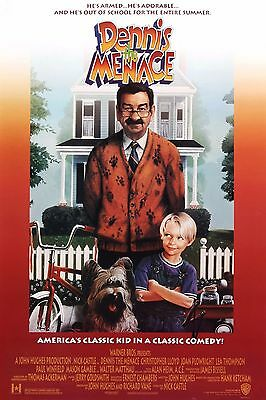 """Dennis The Menace"" Walter Matthau Classic Family Movie Poster A1A2A3A4Sizes"