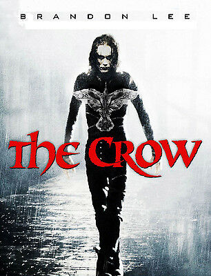 """THE CROW"" Brandon Lee Ernie Hudson Classic 1994 Movie Poster A1A2A3A4Size"