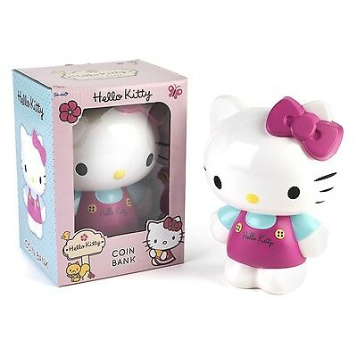 Children Hello Kitty Character Decorative Coin Piggy Bank Loose Change Money Box