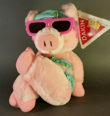 1987 Bacon in the sun plush doll by Dakin with tag!
