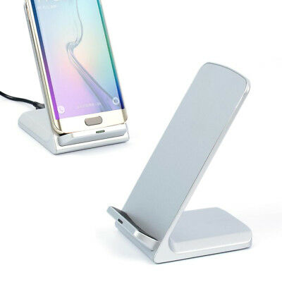 Chargeur Batterie Qi Induction Station Socle Dock Support pour Smartphone / WH