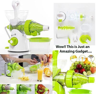 Multi Function Manual FRUITS & VEGETABLES JUICER Extractor