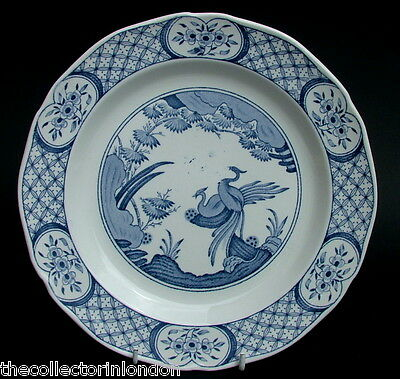 Vintage Furnivals Old Chelsea Pattern Breakfast or Sm Size Dinner Plate 23cm Dia